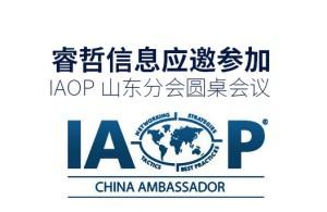 睿哲信息应邀参加IAOP山东分会圆桌会议