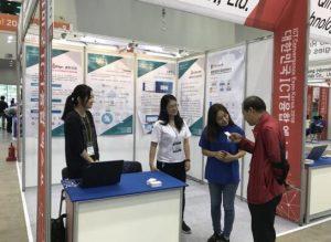 以技术会友,睿哲信息亮相2018年韩国国际IT技术融合博览会